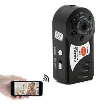 Abusun Mini Wifi DVR Nirkabel IP Camcorder Perekam Video Kamera Inframerah Night Vision Kamera Motion Detection-Intl
