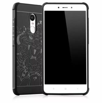 Accessories HP Dragon Shockproof Hybrid Case for Xiaomi Redmi Note 4 / Note 4X Versi Mediatek