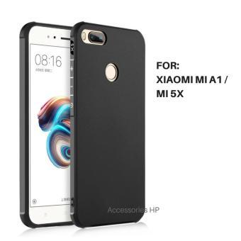 Accessories HP Shockproof Hybrid Back Case for Xiaomi Mi A1 / Mi 5X- Hitam