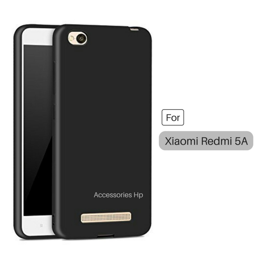 Jak Shop UltraSlim Black Matte Hybrid Case for Xiaomi Redmi 5A - Black
