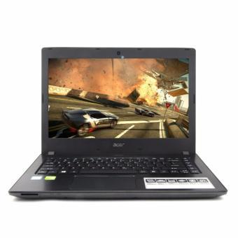 Acer Aspire E5-475G Proc I7-7500U Kabylake Ram 4GB Hdd 1TB VGA NVIDIA GeForce 940MX 2GB DDR5 Layar 14 Inci