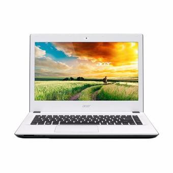 Acer E5-473G-73FJ Cotton Laptop - White [Intel Core i7-4510U 2-3.1GHz/4GB/1TB/GT940M 2GB/14 Inch/DOS]