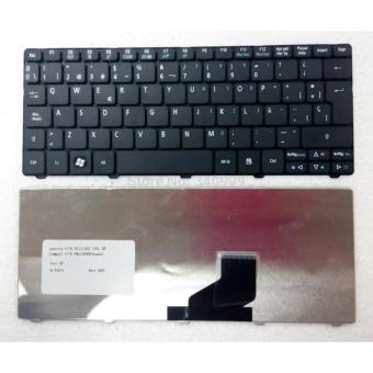 ACER Original Keyboard Notebook Laptop Aspire One 532H D255 D257 D260 EM350 NAV50 Hitam Black