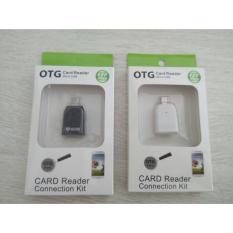 Acetech OTG Card Reader USB 2.0 dan Micro USB D111 Putih