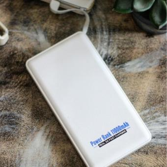 Harga ACETECH Power Bank Note Slim with Micro Cable 11000mAh White