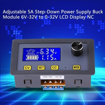 Adjustable DC-DC 5A Step-Down Power Supply Buck Module 6V-32V to0-32V LCD Display CC CV - intl