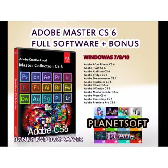 Harga ADOBE MASTER CS 6 FULL SOFTWARE + BONUS