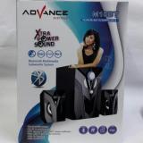 ... Advance M10BT Bluetooth Speaker - Hitam [Subwoofer System] - 4