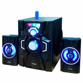 Advance M20BT Speaker Bluetooth Subwoofer 2.1CH - Hitam