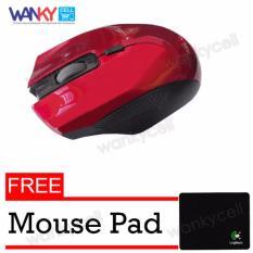 Rp 47.500. Advance Mouse Wireless WM502 -Merah Free MousepadIDR47500. Rp 47.530 uNiQue Mouse Wireless M101 Mouse Nirkabel Untuk Komputer dan Laptop ...