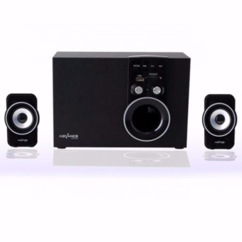 Advance Speaker Bluetooth Multimedia Subwoofer M180BT - Hitam