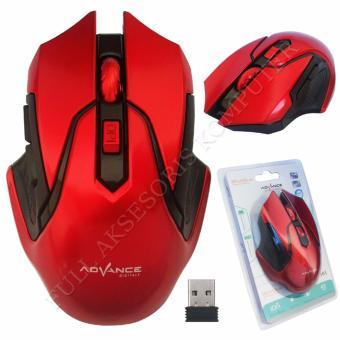 Jual MDISK Mouse MD188 Merah Murah Bhinneka Com Source · Advance Wm501D Mouse Wireless Merah