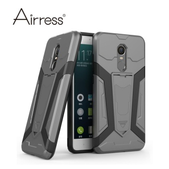 Airress Hard & Soft Hybrid Defender Kickstand Cover ProtectivePhone case for Xiaomi Redmi Note 4X - intl