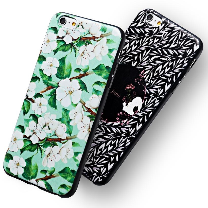 ... AKABEILA 3D Painted Pattern Coloured Drawing TPU Soft Phone CoverFor Apple iPhone 6s Case 4.7 inch ...