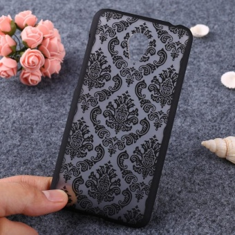AKABEILA Hollow Flower Phone Cases For Meizu M2 Mini Meilan 2 5.0inch Meizu M2 Dual SIM 4G LTE Meilan2 Hard Plastic Phone BackCovers Case Bag Housing Protector Shell Hood - intl