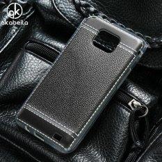 AKABEILA Soft TPU Phone Cover Case untuk Samsung I9100 Galaxy S II I9100G I9108 I9100p SII S2 GT-I9100 4.3 Inch Meliputi Litchi Phone Silicone Hood Perumahan Belakang-Intl