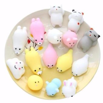 Aksesoris Fashion HP (3 Pcs) - Squishy Toy Fidget Hand Rising Model Animal Lucu Menggemaskan - Random