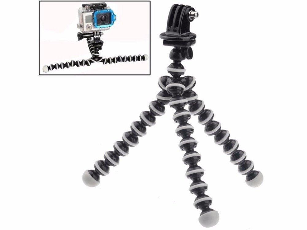Aksesoris kecil ukuran fleksibel Mini tumpuan kaki tiga Gorillapodgurita gelembung untuk GoPro Hero 4 3 x