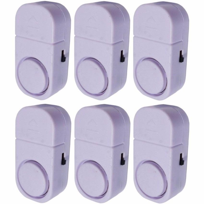 Alarm Pintu Rumah Canggih Sensor Anti Maling Paket 6 Pcs