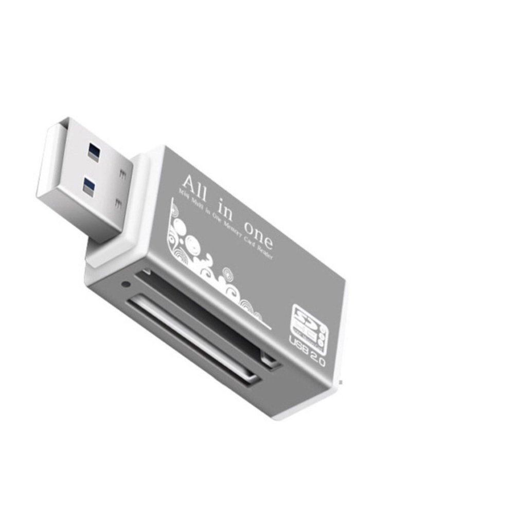 ... All In 1 USB 2.0 Multi Memory Card Reader For SD XD MMC MS CF SD ...