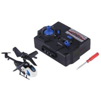harga Allwin 1 buah baru Mini helikopter remote RC lain denganmengendalikan mikro remote mengendalikan putih Lazada.co.id
