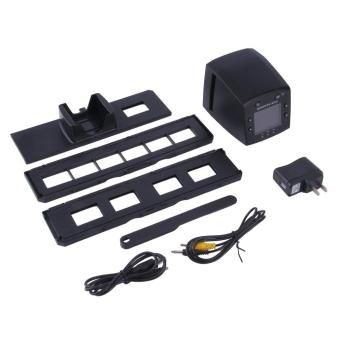 ... Allwin 5 megapiksel 35 mm Slide Scanner USB Film negatif pemirsa foto mesin fotokopi warna hitam