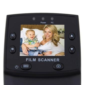 Allwin 5 megapiksel 35 mm Slide Scanner USB Film negatif pemirsa foto mesin fotokopi warna hitam ...