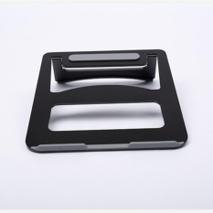 Aluminum Alloy Hybrid Laptop Stand Cooling Pad for Notebook/MacBook- intl