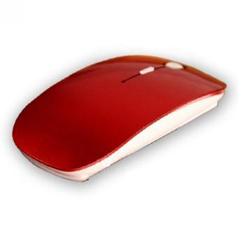 Amart Wireless 2. 4G penerima Ultra Thin Mouse optik (merah) - ???? ??????