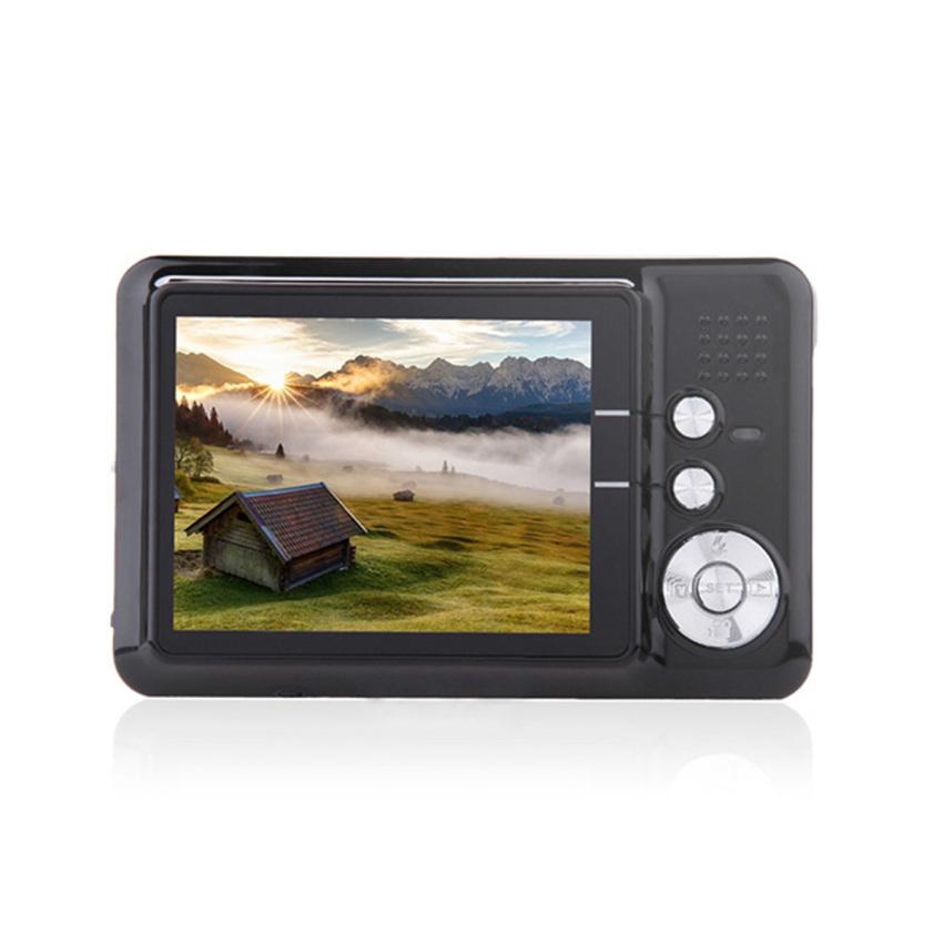 "Amkov CD-FE 2.7"" TFT 5MP CMOS Wide Angle 8X Digital Zoom Digital Camera w/ SD Slot - Black - intl"
