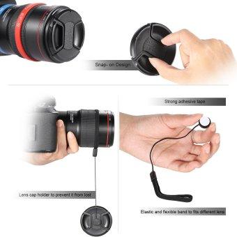 Andoer 52 mm/UV/CPL/FLD close up (+ 1 + 2 + 4 + 10) Filter lensa Kit dengan membawa kantong/Cap/tutup lensa lensa karet dudukan/tulip dan kerudung/kain pembersih lensa - 4
