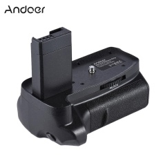 Andoer BG-1H Vertical Grip Compatible with 2 * LP-E10 for Canon EOS 1100D 1200D 1300D / Rebel T3 T5 T6 / kiss X50 X70 DSLR Cameras - intl