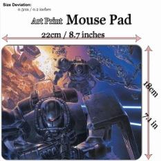 Anime Art Print Mouse Pad Mat (22*18 Cm) untuk A335 MS-06 ZAKU II-Gundam-Intl