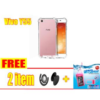 outlet store e2edd d1633 Harga Anti Crack Softcase Casing for Vivo Y55 + FREE Popsocket + ...