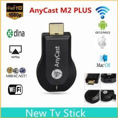AnyCast Miracast 1080P Wifi HDMI Dongle Tampilan Receiver DLNA TV Airplay
