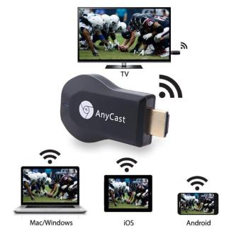 AnyCast WiFi Receiver tampilan Miracast TV Dongle HDMI Stick DLNA Airplay 1080 P
