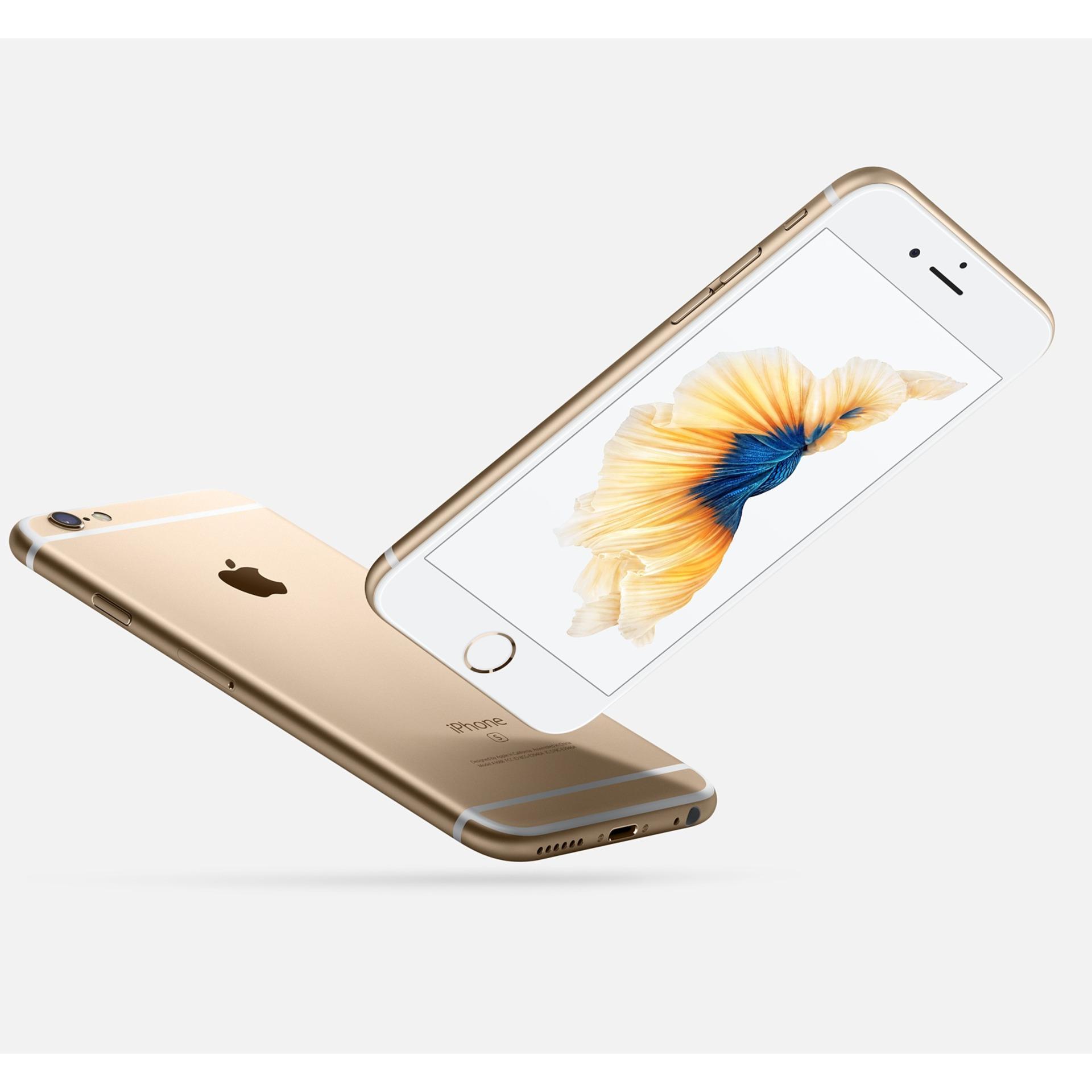 ... Apple iphone 6S 16GB - Gold - GARANSI INTERNASIONAL ...