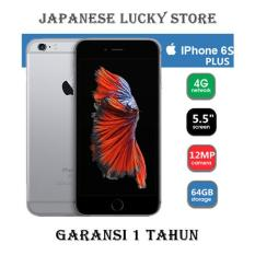 APPLE IPHONE 6S PLUS 64GB SPACE GREY - 4G LTE - GARANSI 1 TAHUN