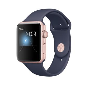 Apple Watch 2 series 2 Rose Midnight - 42mm - Garansi 1 Tahun