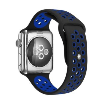 Apple Watch 42mm Band Series 1 Series 2,Soft Durable Nike + Sport Replacement Wrist Strap for iWatch - intl