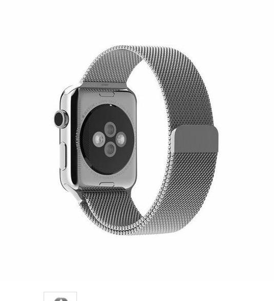 ... Apple Watch Band - 42mm Milanese Loop Stainless Steel Bracelet Strap Magnetic Closure Clasp - Replacement ...