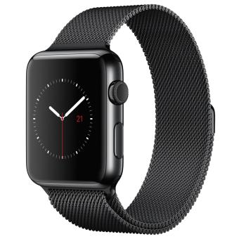 Apple Watch series 2 Nylon - Black - 42mm - Garansi 1 Tahun