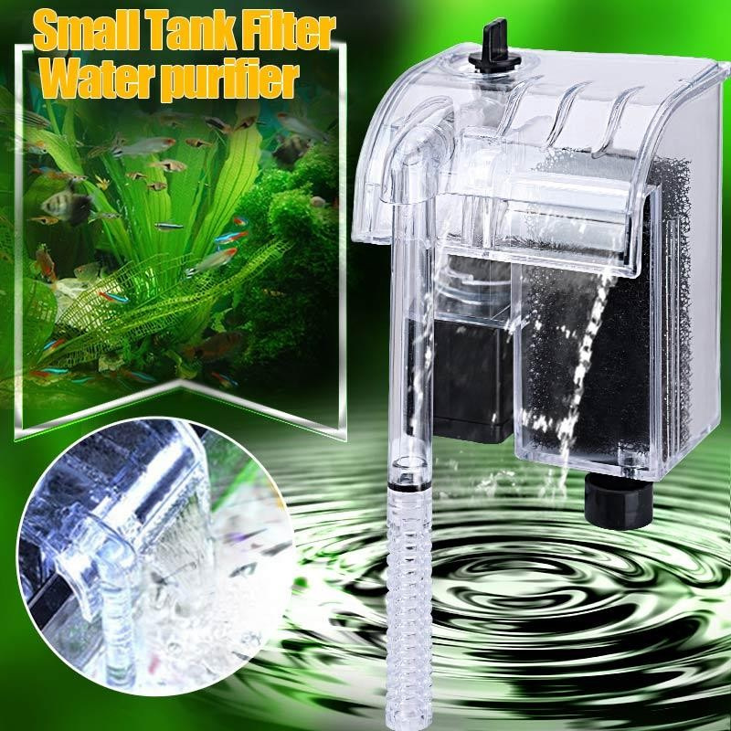Aquarium Power Filter Air Pompa Sirkulasi Filter Perangkat-Intl