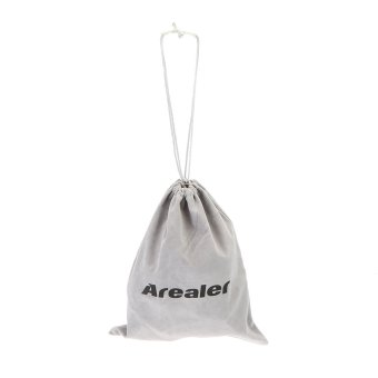 Arealer Storage Bag Portable Folding Cloth Bag for VR GlassesSpeaker Headset Mini Projector Other Mobile Devices - Intl