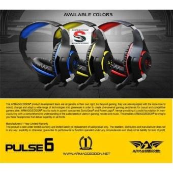Armaggeddon Pulse 6 Gaming Headset - Kuning - Best Buy - 2 ...