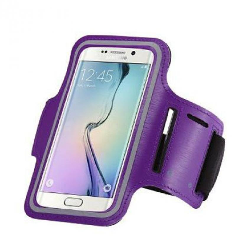 Armband for Smartphone 5 inch - Purple