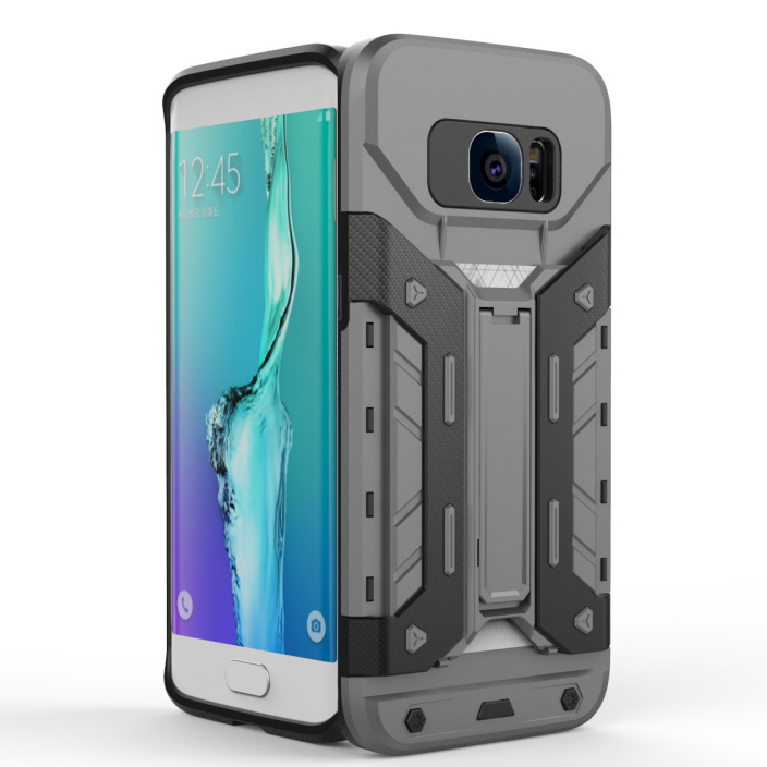 For Lg Stylus 2 Plus Split Joint Pc Tpu Hybrid Cell Phone Back Case Source · Armor PC TPU Card Holder Hybrid Kickstand Shell for Samsung Galaxy S7 edge G935 ...