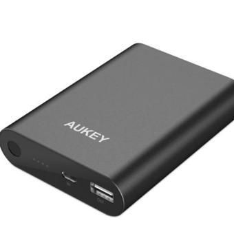 Aukey Power Bank 10400 mAh With Quallcomm Quick Charge 3.0 (PB-AT1)- Hitam ...