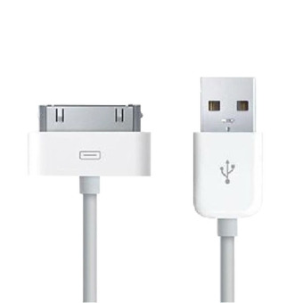 Aukey USB kabel pengisian charger cocok untuk iPhone 4 4S 4G iPad 2