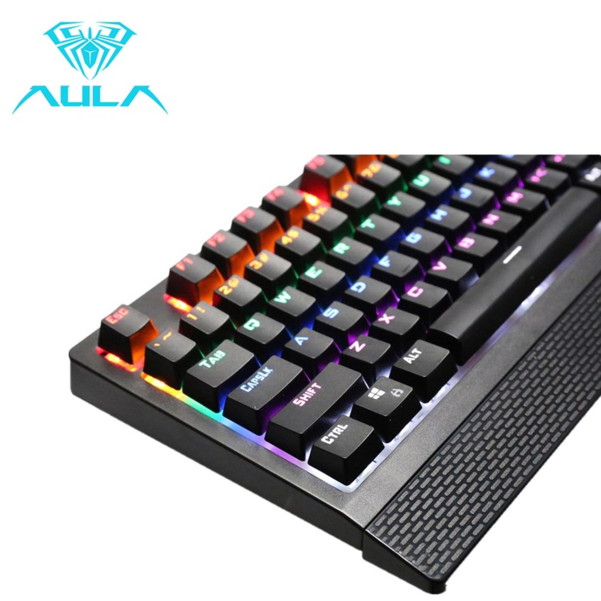 Aula Wings Of Liberty Mechanical Gaming Keyboard Blue Switch104keys Rexus Warfaction 2 In 1 Combo Mouse Rx Vr2 Partner 104keysmulticolors Rgb Hitam